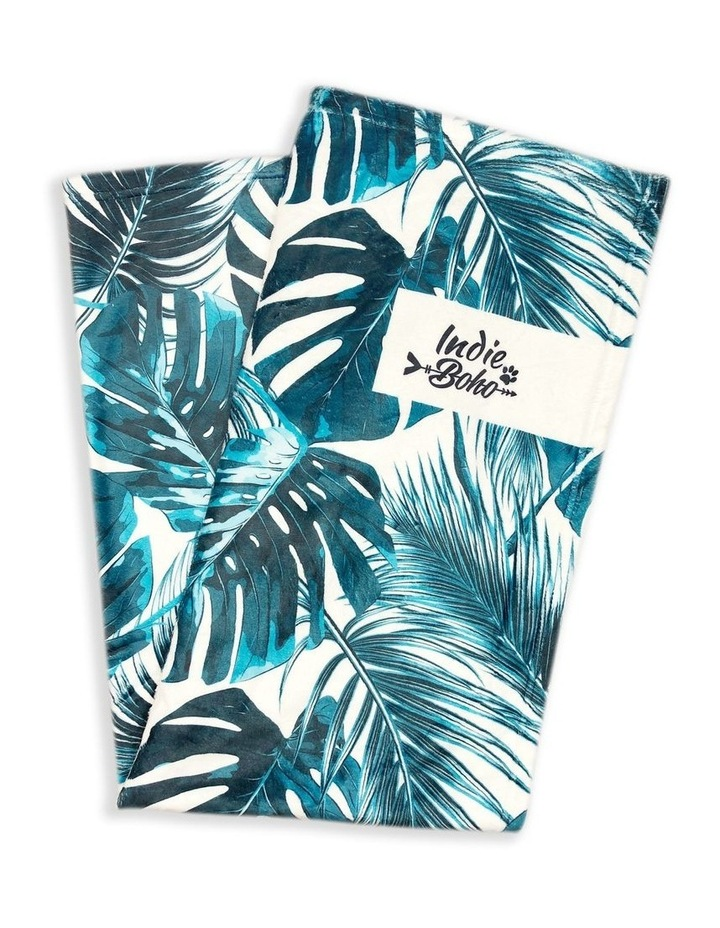 Tropical Leaves - Designer Pet Blanket image 1