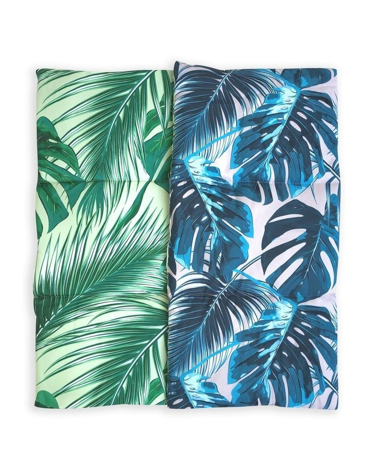 Tropical Leaves Travel Mat image 2