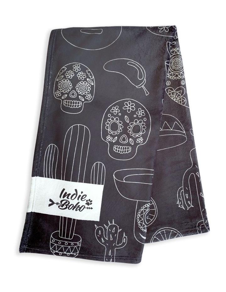 Mexican Skulls - Designer Pet Blanket image 1