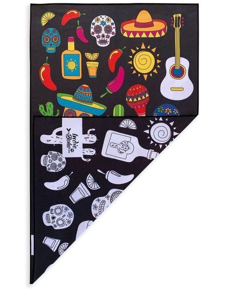 Mexican Skulls Pet Travel Towel image 1