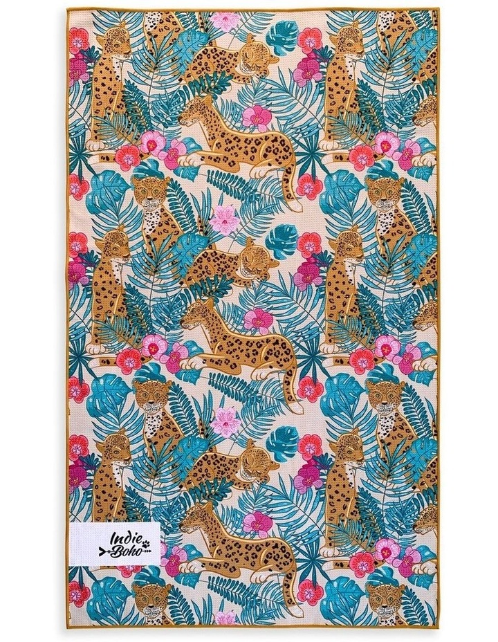 Leopard Luxe Pet Travel Towel image 2