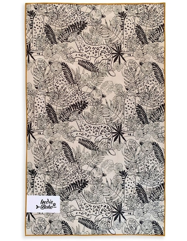 Leopard Luxe Pet Travel Towel image 3