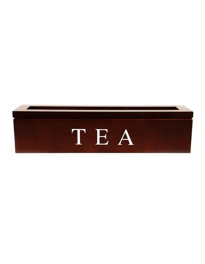 5 Compartment Wooden Tea Box image 1