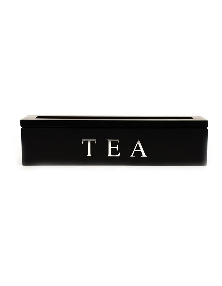 5 Compartment Wooden Tea Box image 1