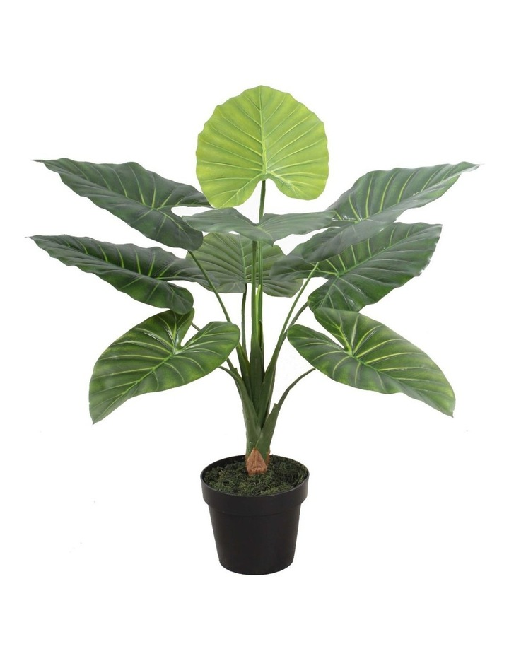 60cm Tall Potted Taro Home Decor Fake Plant Indoor image 1