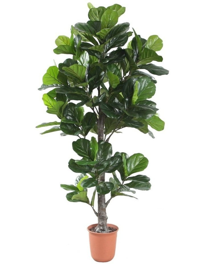 190Cm Tall Potted Fiddle Leaf Home Decor Fake Plant image 1
