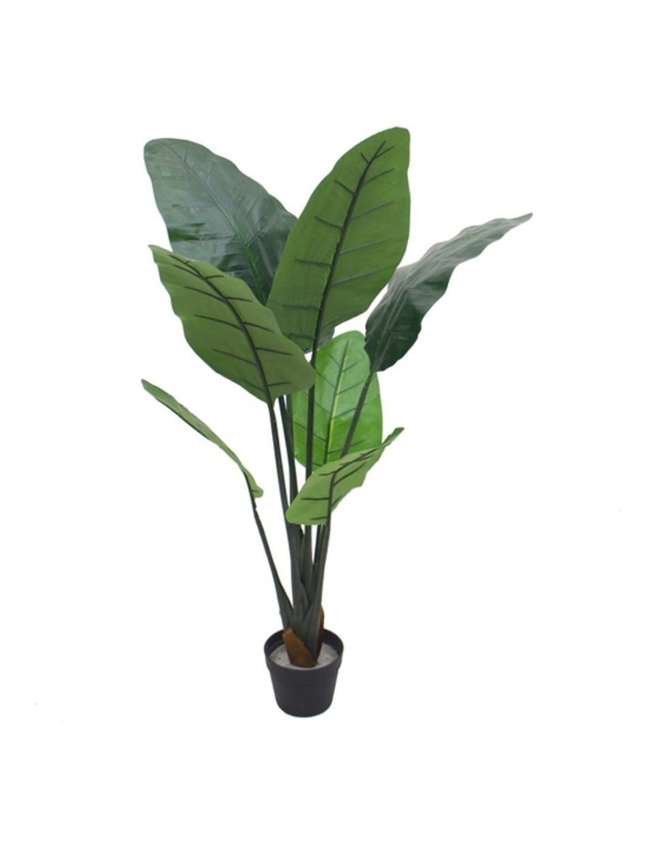 110Cm Tall Potted Artificial Bird Of Paradise Home Decor Fake Plant Indoor image 1