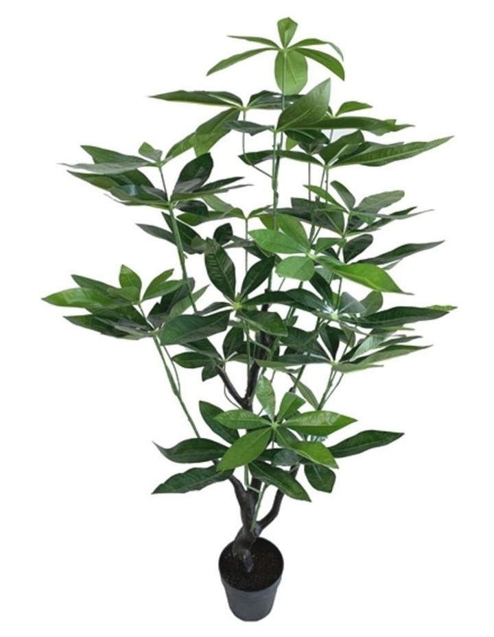 120Cm Tall Potted Artificial Money Bag Home Decor Fake Plant Indoor image 1