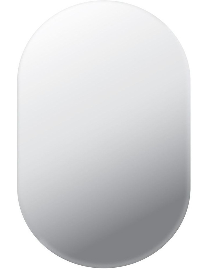 Issy Urban Oval Frameless Wall Mirror image 1