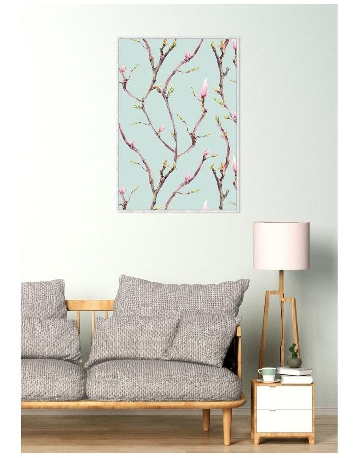 Framed Wall Art Flower Branches 60x90cm image 1