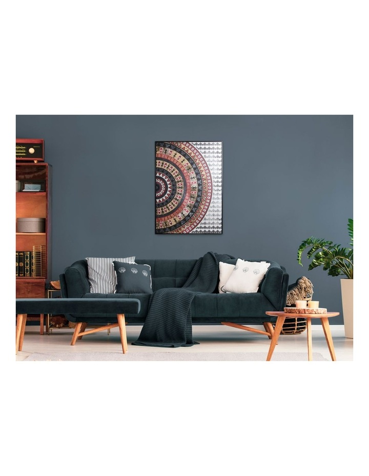 143 x 102cm Natural Mosaic Print Canvas Framed Wall Art image 3