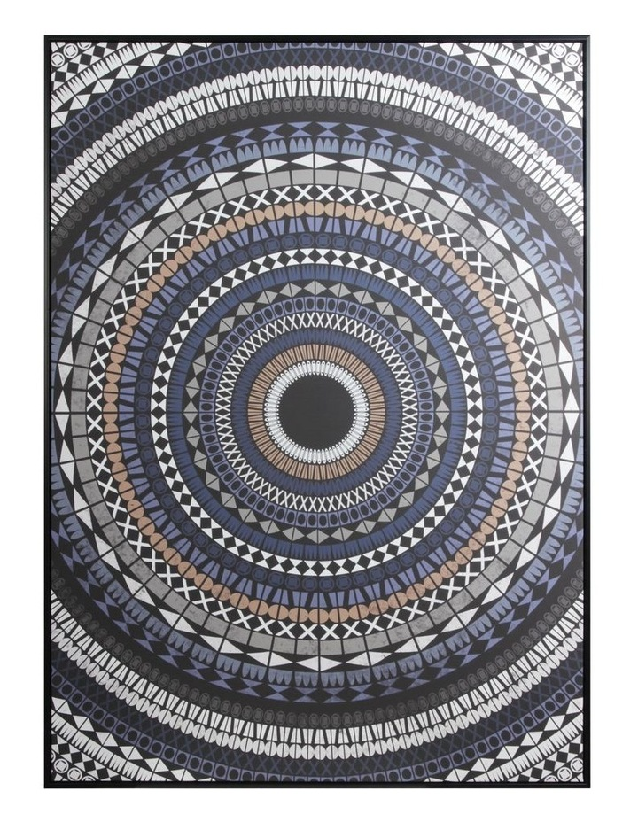 Cooper & Co.  143 x 102cm Sprial Absrtract Canvas Framed Wall Art image 1