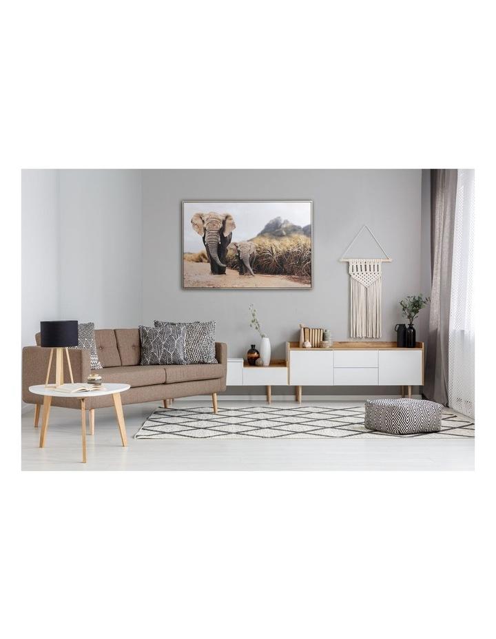 82 x 122cm Elephant Print  Canvas Framed Wall Art image 3