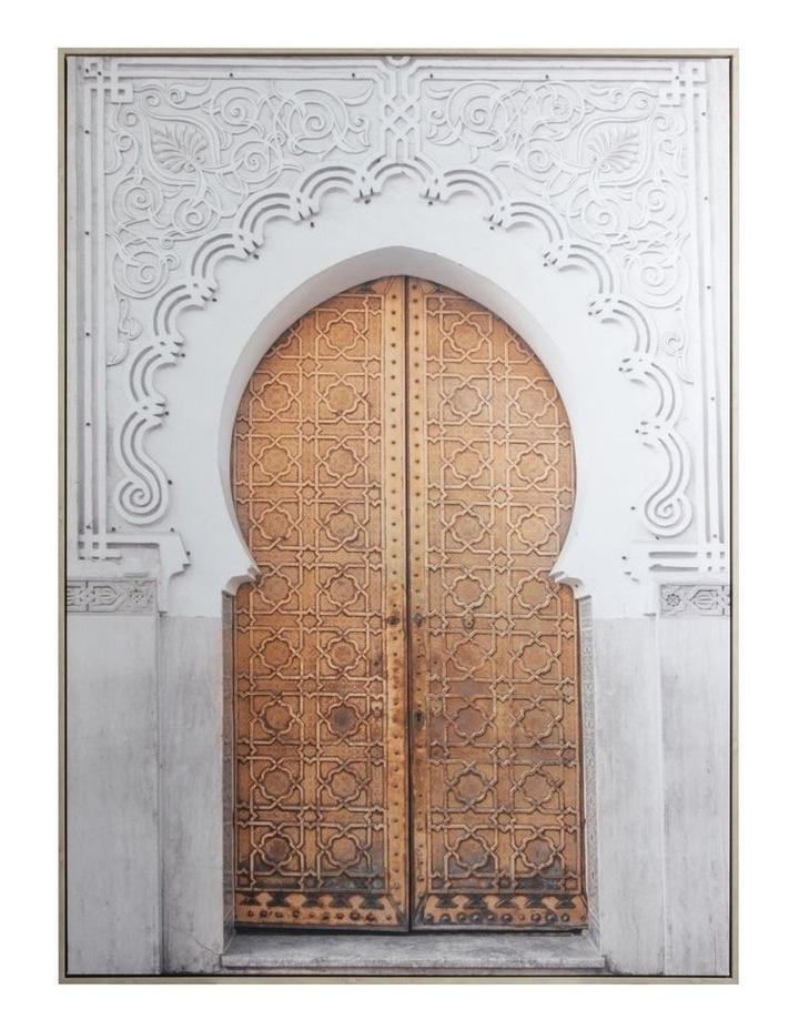 Cooper & Co.  142 x 102cm Moroccan Doors Canvas Framed Wall Art image 1
