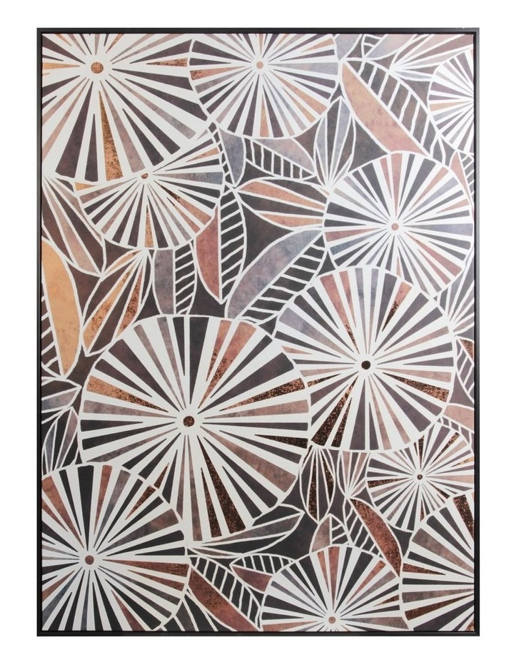 Cooper & Co.  143 x 102cm Abstract Foil Print Canvas Framed Wall Art image 1