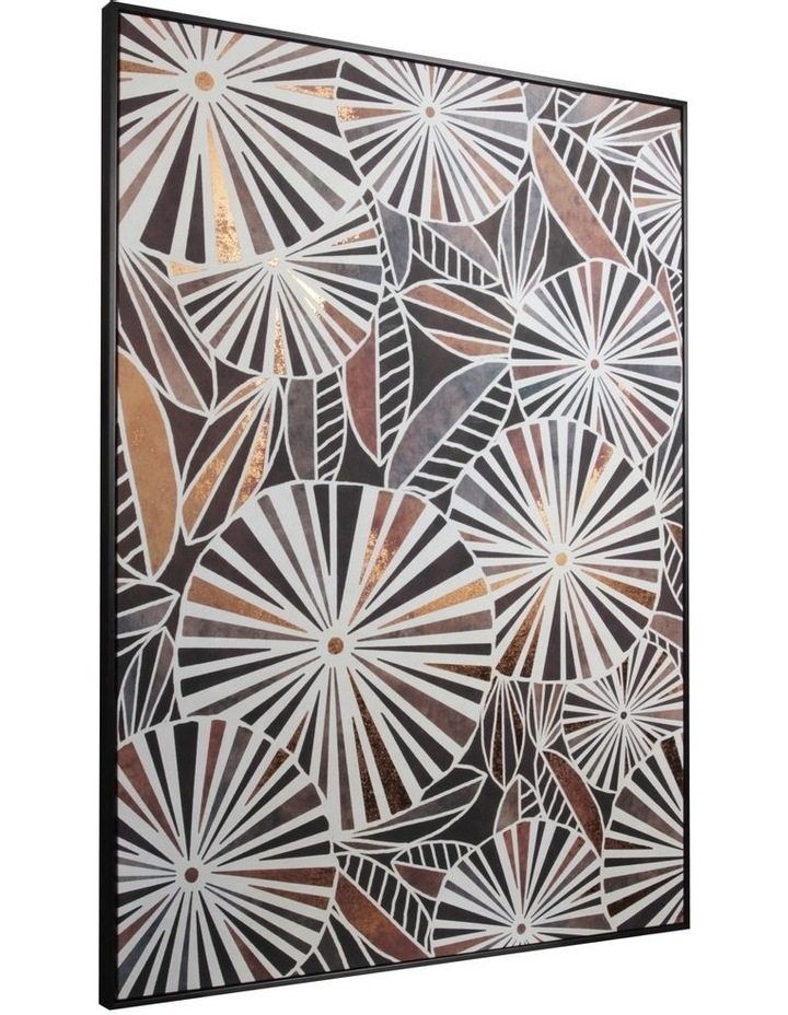 Cooper & Co.  143 x 102cm Abstract Foil Print Canvas Framed Wall Art image 2