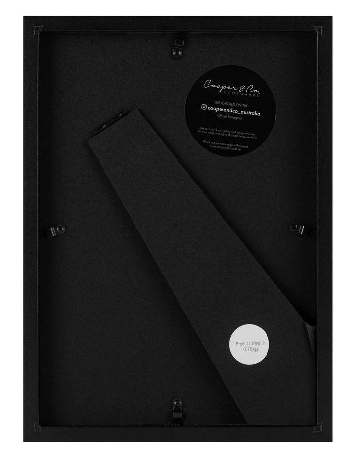Cooper & Co Set Of 2 21x29.7cm Black Premium Paradise Wooden Photo Frame image 3