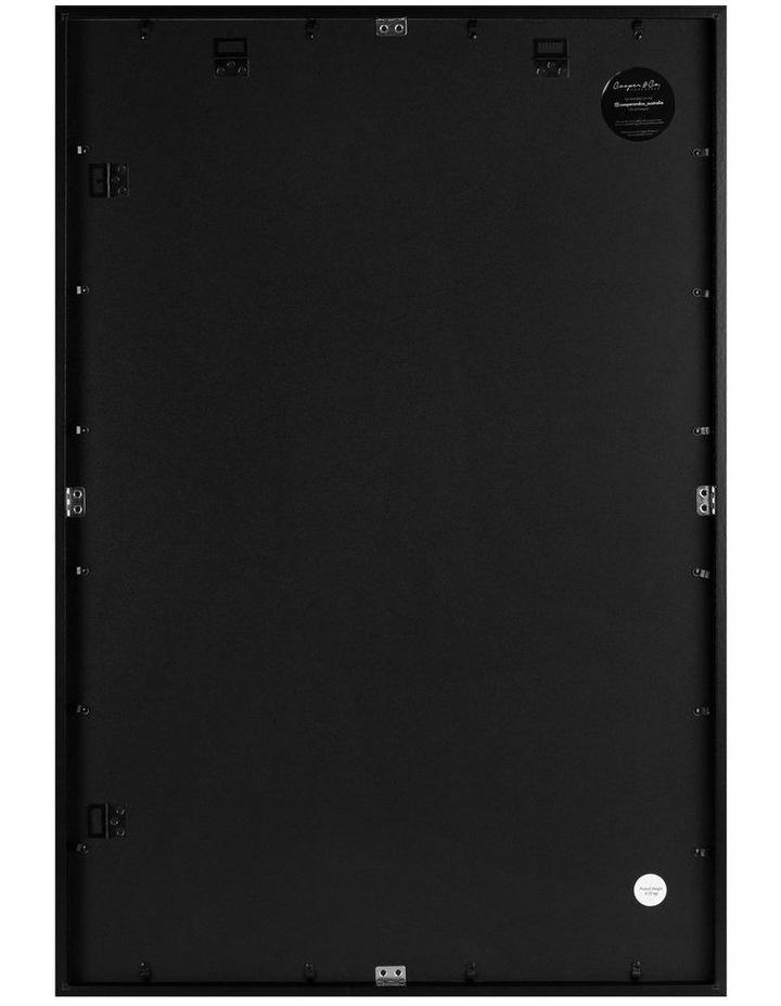 60x90cm Mat to 50x70cm Black Premium Paradise Wooden Photo Frame image 2
