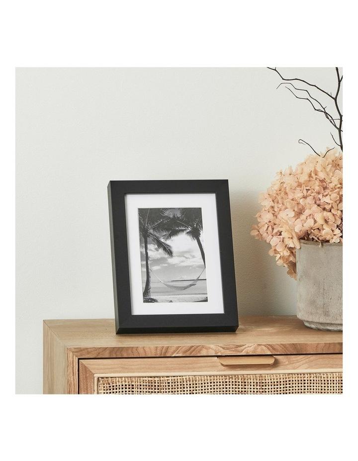 Set Of 4 15x20cm Mat to 10x15cm Black Premium Paradise Wooden Photo Frame image 4