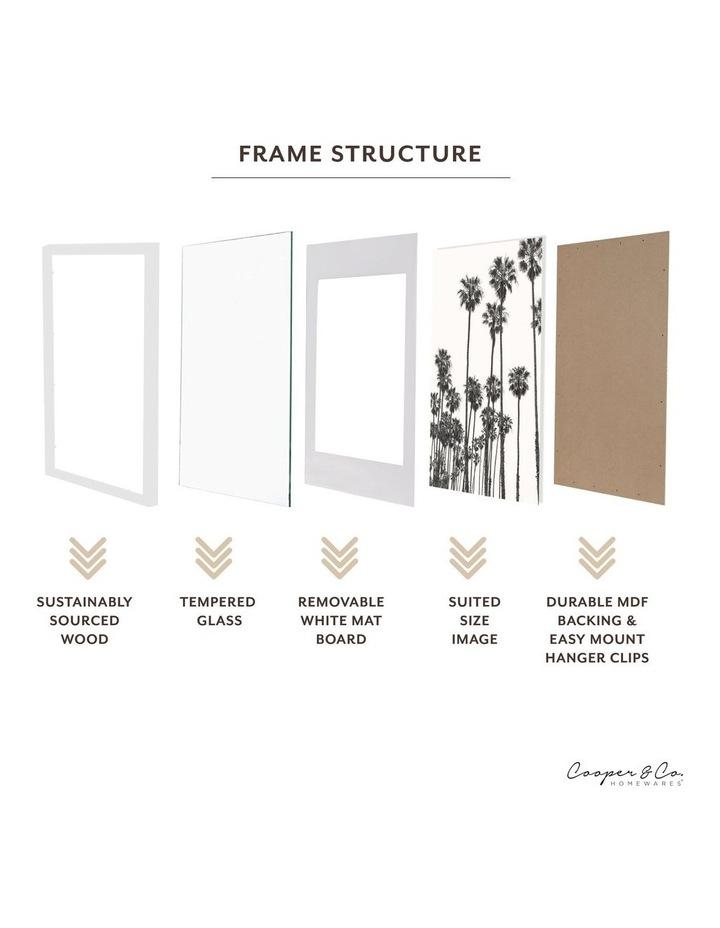 60x90cm Mat to 50x70cm White Premium Paradise Wooden Photo Frame image 5