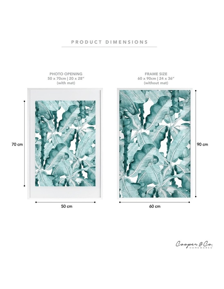 60x90cm Mat to 50x70cm White Premium Paradise Wooden Photo Frame image 6
