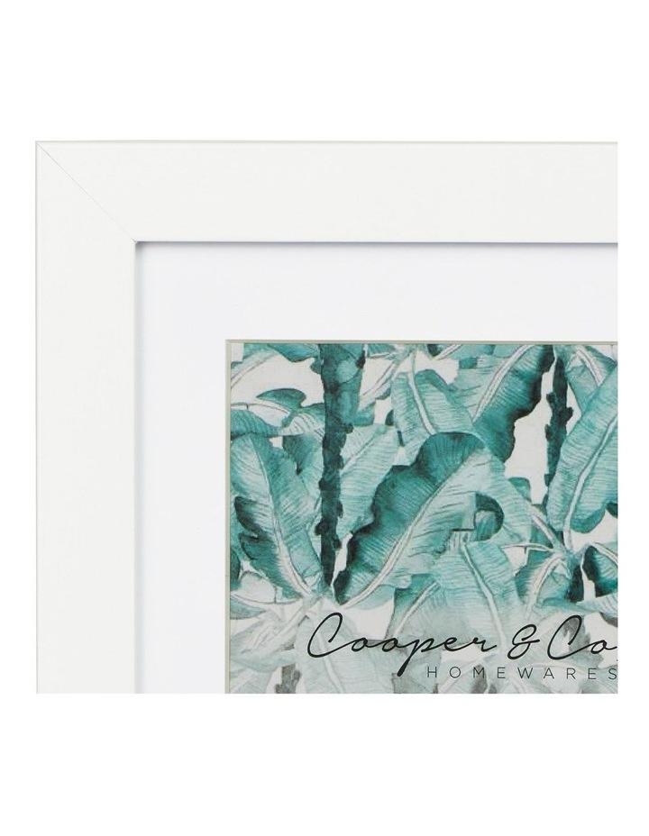 Set Of 4 15x20cm Mat to 10x15cm White Premium Paradise Wooden Photo Frame image 5