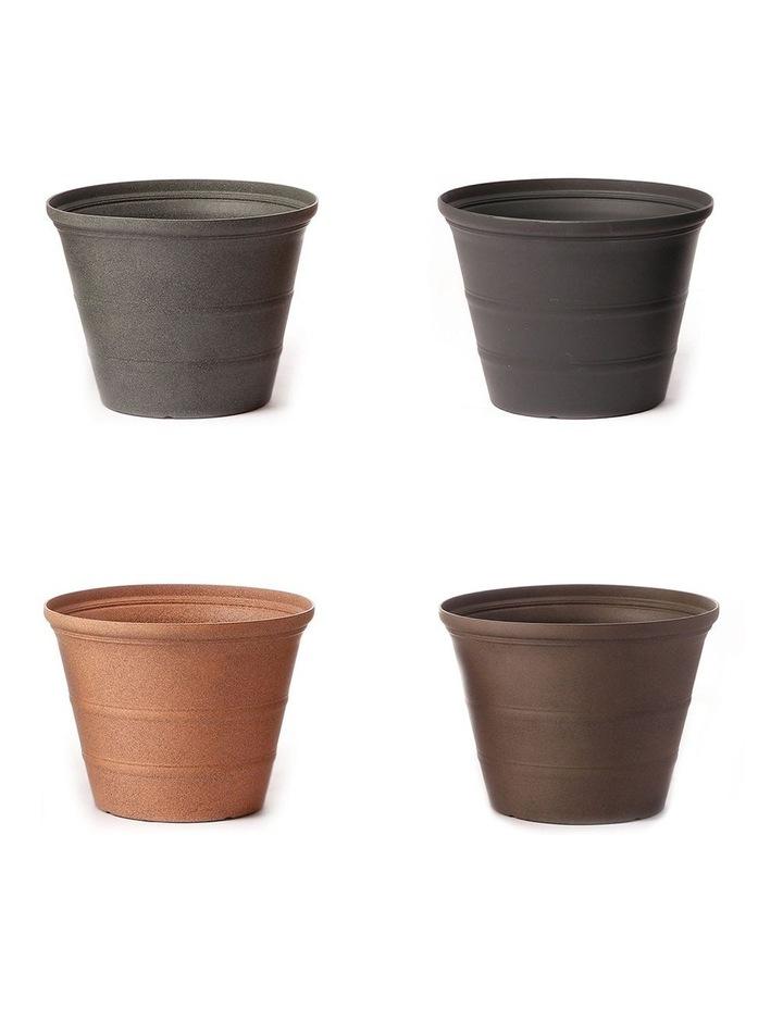 24Cm Camellia Rang Pot Planter Set Of 4 image 1