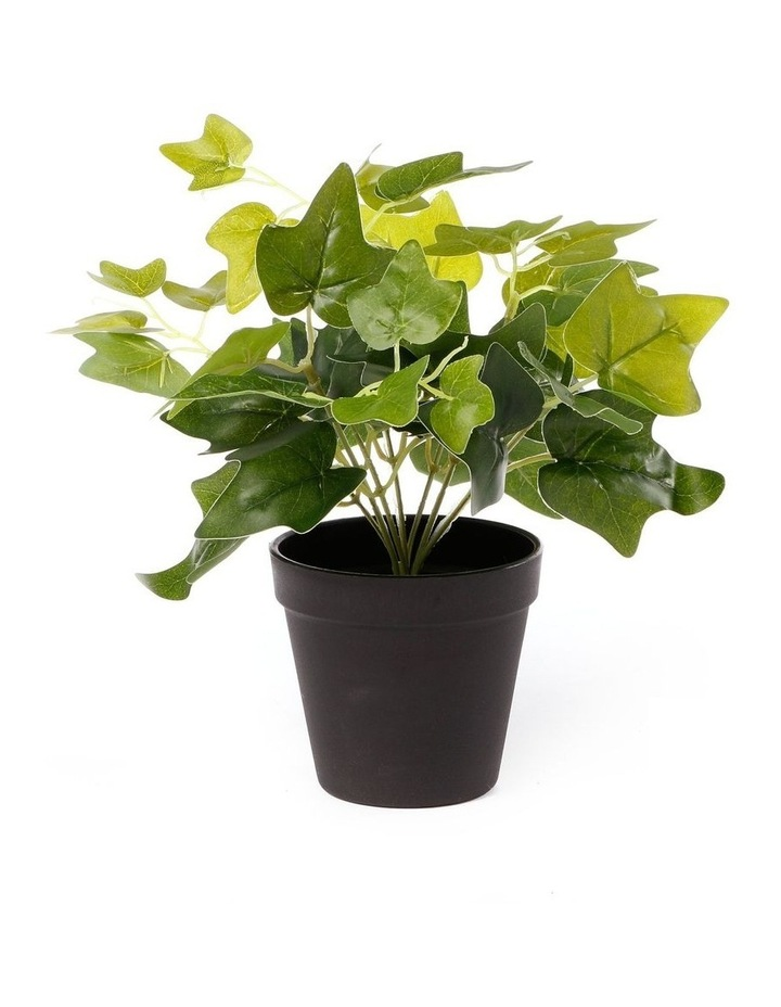 Artificial 28cm Sweet Leaf Potted Plant image 1