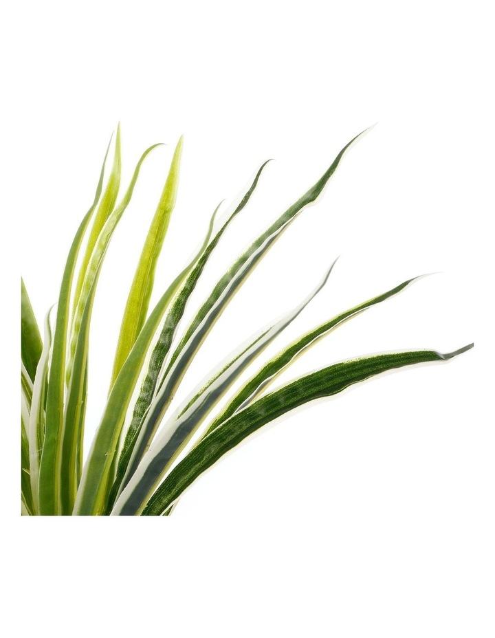 Artificial 30cm Spider Leaf Potted Plant image 3
