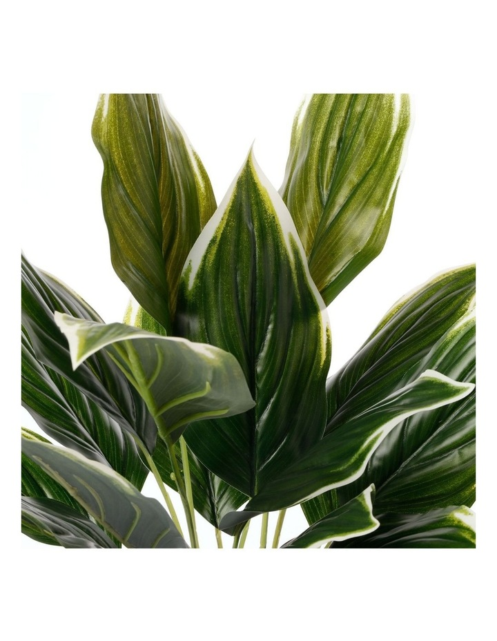 Artificial 47cm Hearty Leaf Potted Plant image 4