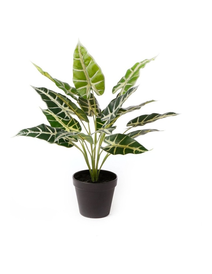 Artificial 47cm Taro Leaf Potted Plant image 1