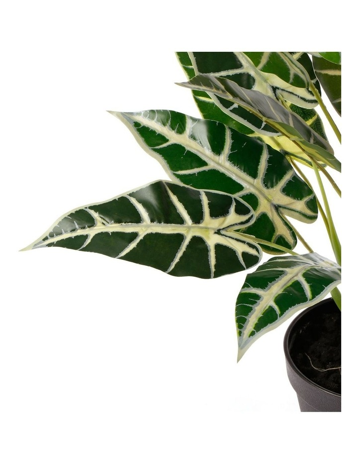 Artificial 47cm Taro Leaf Potted Plant image 3