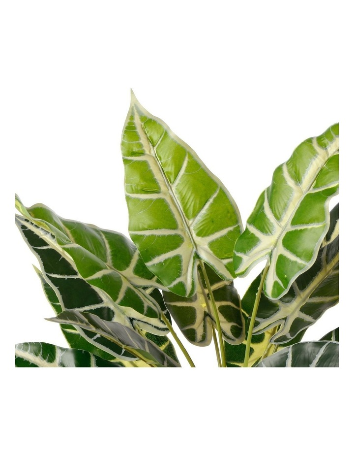 Artificial 47cm Taro Leaf Potted Plant image 4