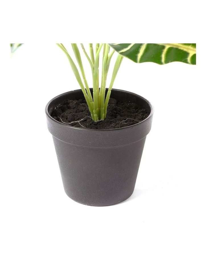 Artificial 47cm Taro Leaf Potted Plant image 5