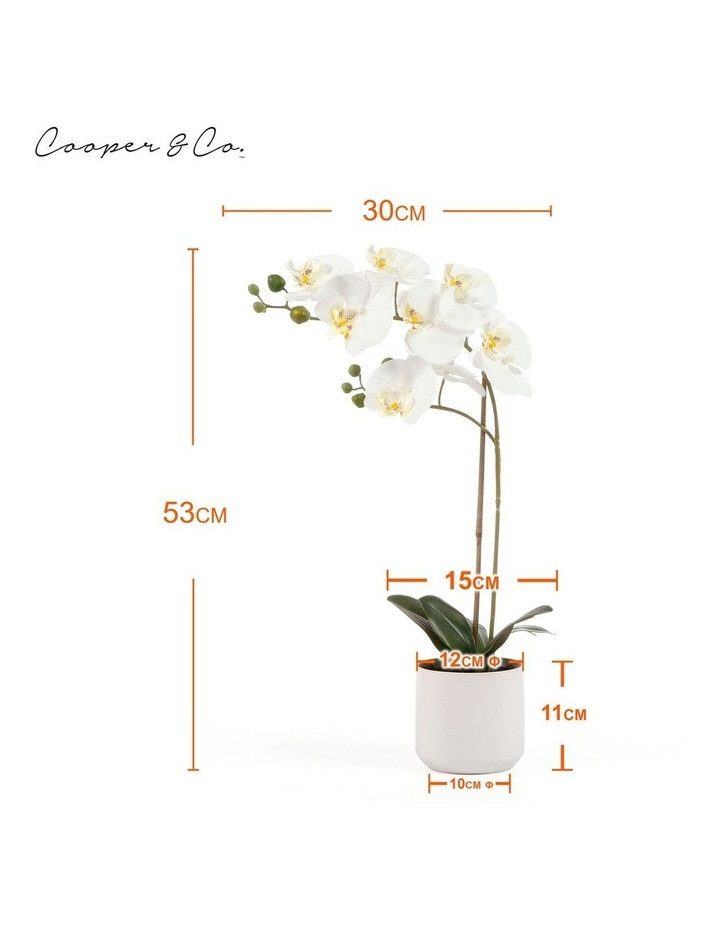 53cm Orchid Potted Artificial Plant image 3
