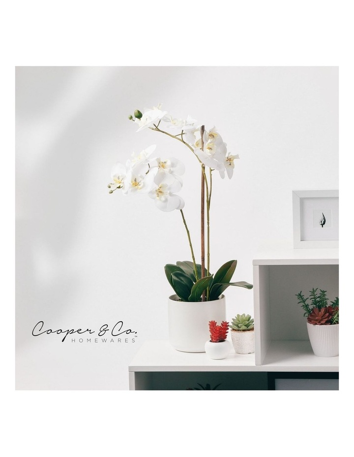 61cm Orchid Potted Artificial Plant image 2