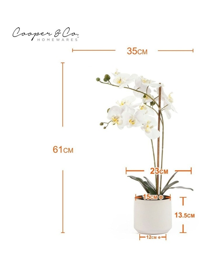 61cm Orchid Potted Artificial Plant image 3
