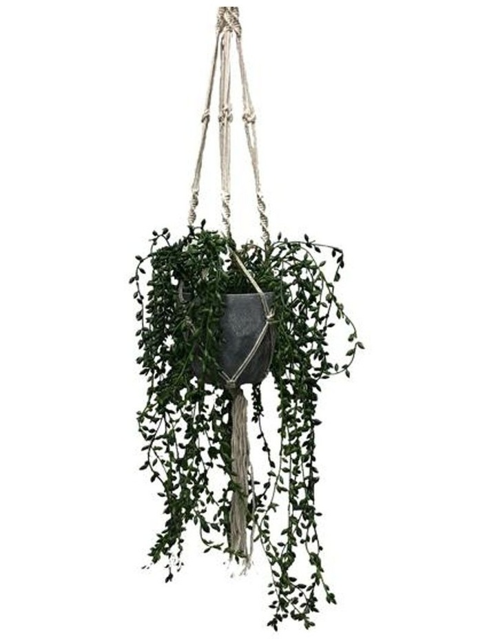 90cm Artificial Pearl Hanging Potted Plant image 1