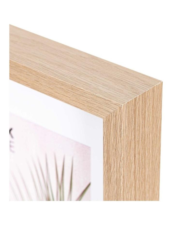 Set of 2 28x36cm mat to 20x25cm Set of 2 Oak Shadow Box Wooden Photo Frame image 4