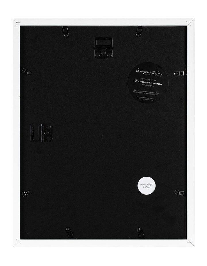 28X36cm/20X25cm Set of 2 White Shadow Box Wooden Photo Frame image 2