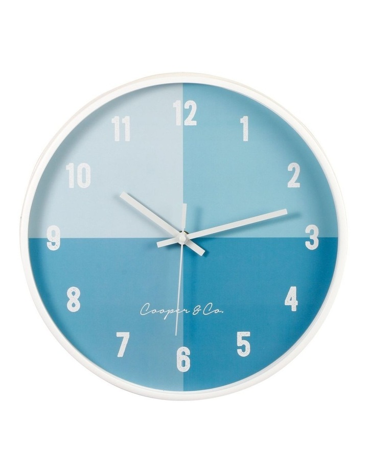 30cm  Hampton Silent Movement Round Wall Clock image 1