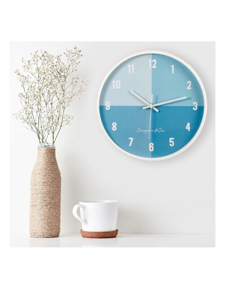 30cm  Hampton Silent Movement Round Wall Clock image 2