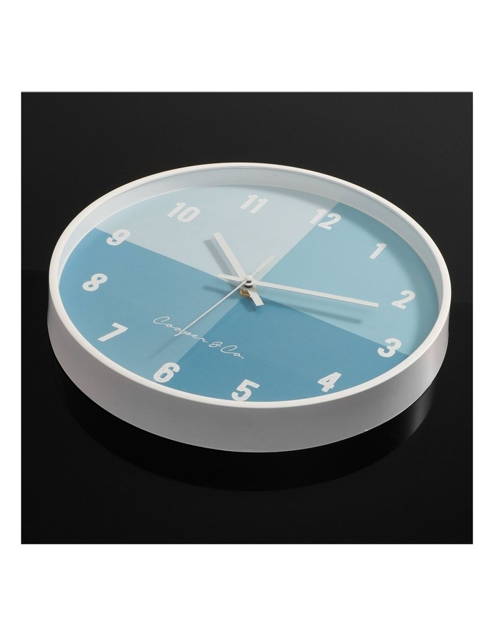 30cm  Hampton Silent Movement Round Wall Clock image 3