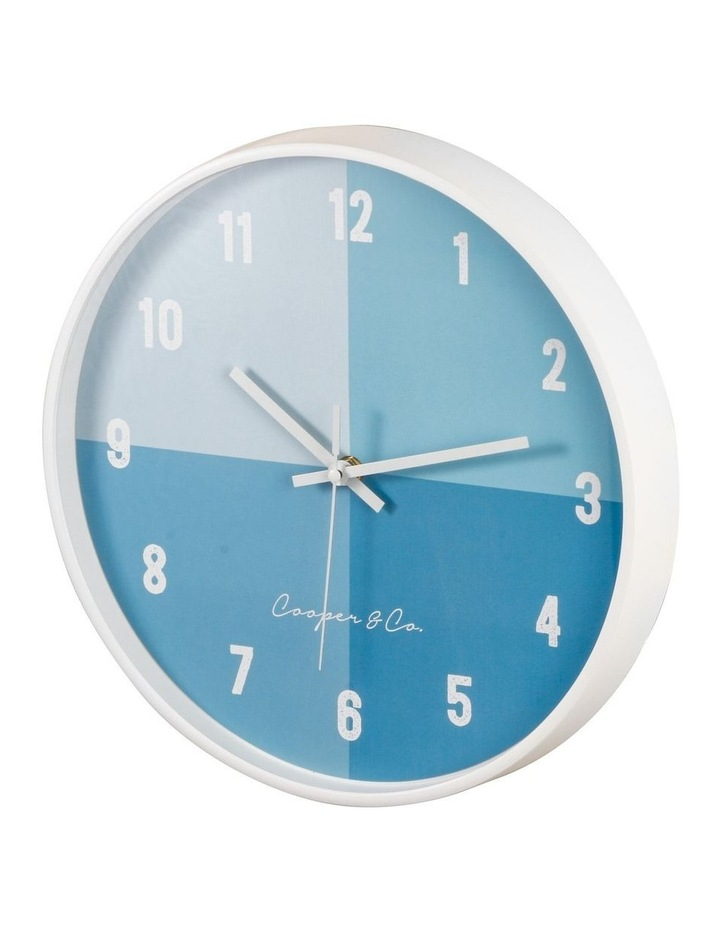 30cm  Hampton Silent Movement Round Wall Clock image 4