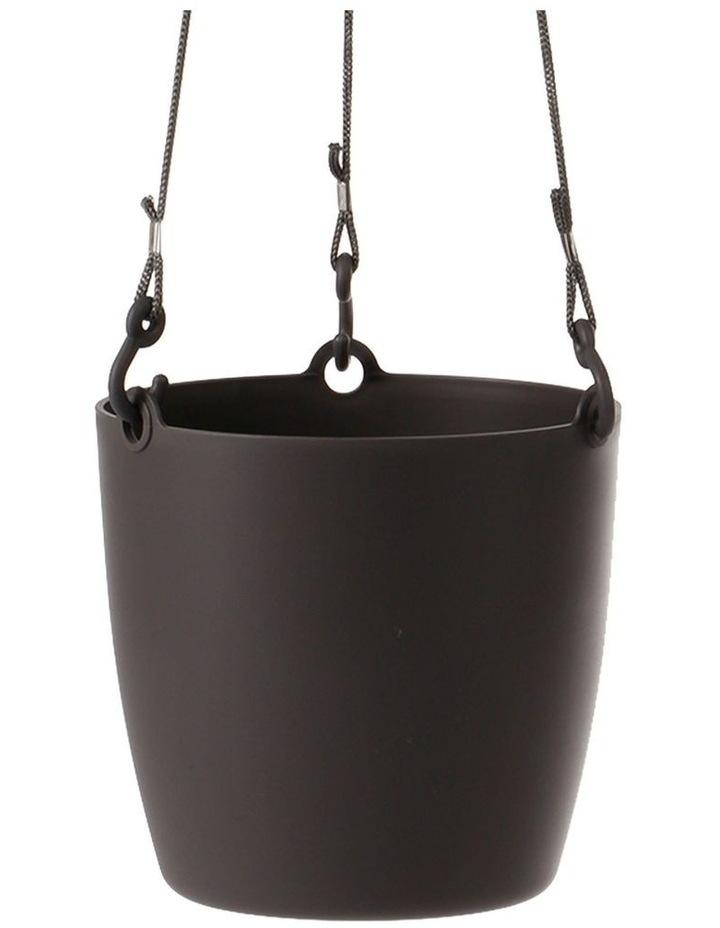 Set of 3 18cm Fuchsia Round Hanging Planter Pots image 2