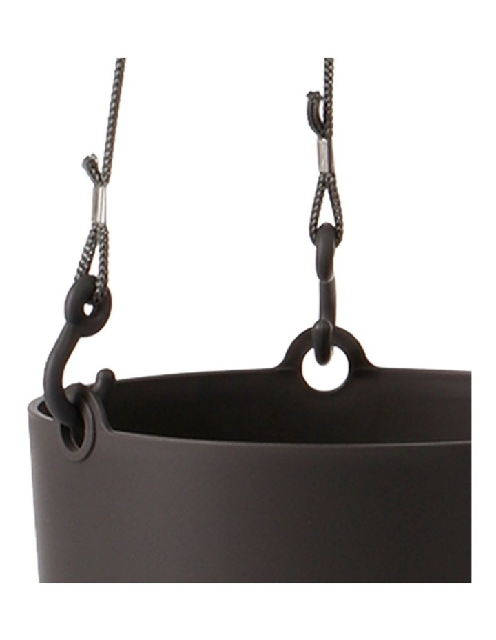 Set of 3 18cm Fuchsia Round Hanging Planter Pots image 5