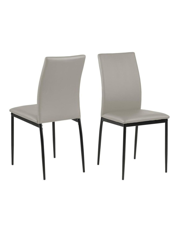 Living Set of 4  Emily Dining Chair Taupe image 1