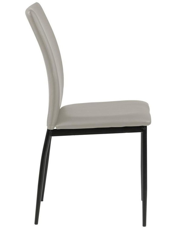 Living Set of 4  Emily Dining Chair Taupe image 3