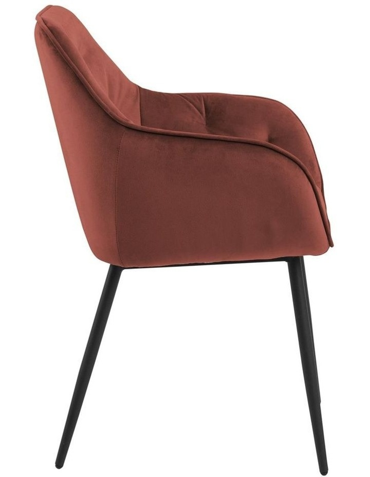 Set of 2 Living Stella Dining Chair Coral image 3