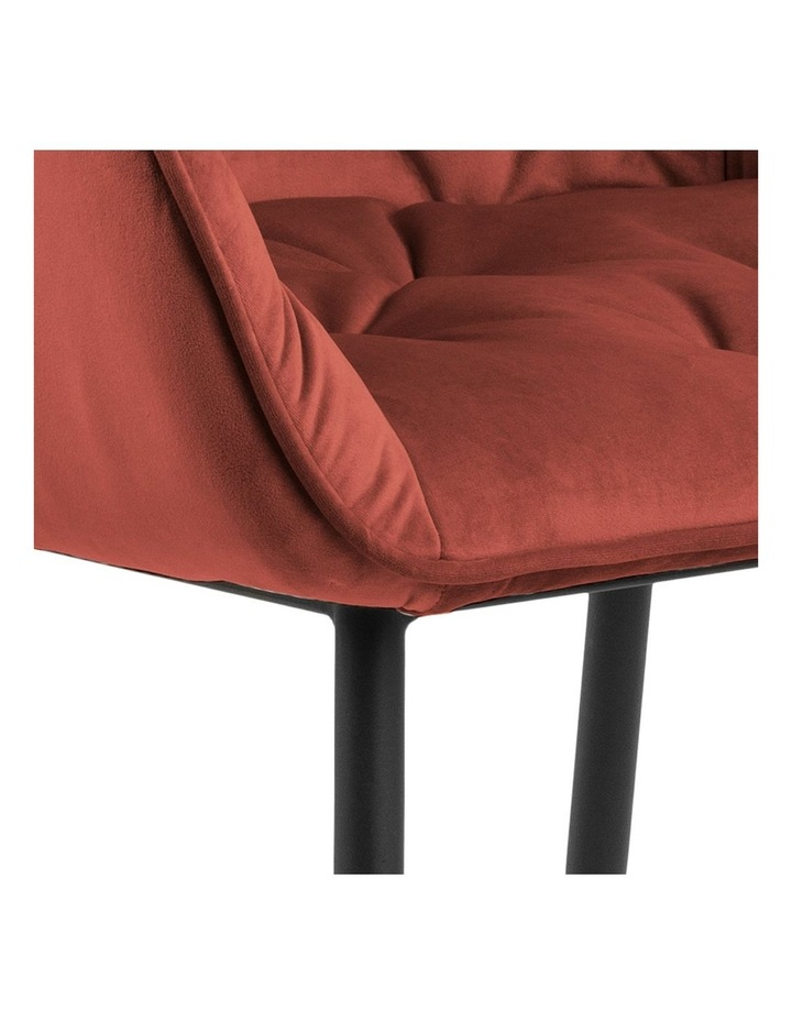 Set of 2 Living Stella Dining Chair Coral image 4